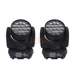 Masters Degrees UK - 2Pcs lots 19x15w Zoom Moving Head Light Wall Wash light With Circle Control Function 19*15w Stage Light