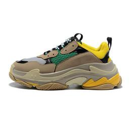 $enCountryForm.capitalKeyWord NZ - hot best Casual shoes quality Fashion Cheap Sale Sneaker Triple S Casual Dad Shoes for Men's Women Beige Black Sports Tennis Shoes 36-45