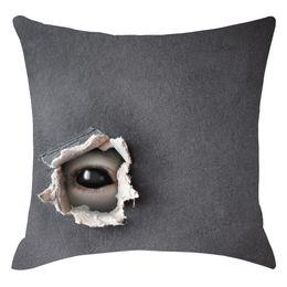 $enCountryForm.capitalKeyWord Australia - Pillow Cases For Wedding Durable Pillow Cases Home Decor Halloween Horror Shadow Pillowcase Decorative Sofa Cushion Cover K809