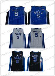 $enCountryForm.capitalKeyWord Australia - Cheap wholesale NEW R.J. Barrett #5 Duke Blue Devil College Jerseys Basketball Stitched S-XXL