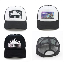 1cca75584 Fortnite Trucker Cap Hat Game Fortnight Fans Mesh Caps Summer Breathable  Baseball Net Cap HipHop Hat for Men Women Outdoor Sun Quick-dry Hat