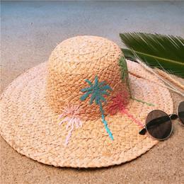 5da8bab4 Handmade Hats For Men NZ - Women 100% Raffia Straw Handmade Weave Dome Sun  Hat