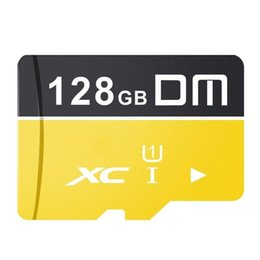 High Tablets Apple Australia - DM 128GB Class 10 High Speed Flash Memory TF Card for Xiaomi Mobile Phone Tablet COD