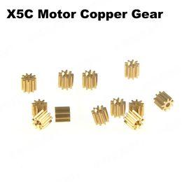 Nitro Gear Australia - Syma X5C 9T Motor Copper Gear for Syma X5A X5 X5C X5SC X5SW X5HC X5HW RC Drone Quadcopter Spare Parts Motor 12PCS