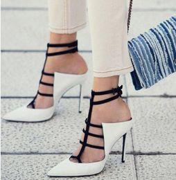 Luxury Designer Women Shoes Australia - Sexy black white designer heels pumps Fashion Luxury Designer Women Shoes High Heels 12cm size 35 to 40