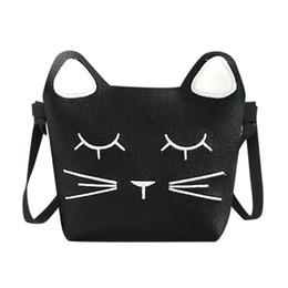3adcdd5d3b3 Designer Lovely Cute Cat Handbags Bag Children New Designed Messenger Mini  Shoulder Bag Kids Present Gift Girls Kawaii Crossbody Bags
