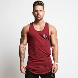 Wholesale Summer Running Vest Men Quick Dry Bodybuilding Undershirt Sleeveless t shirt Man Gym Wear Fitness Tank Top Sport Vest Clothing
