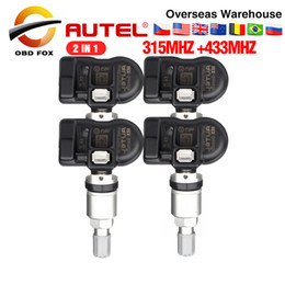 $enCountryForm.capitalKeyWord Australia - Autel MX-Sensor 2 in 1 (315MHz+433MHz) Universal Programmer Tire Pressure Monitoring System MaxiTPMS PAD MX Sensor 2in1 4pcs lot