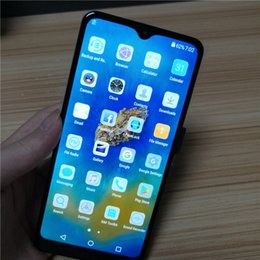Cheap dual sim touCh phone online shopping - 2019 New inch water drop screen Cheap Mate20 Pro Smartphone MTK6580P Quad Core GB G Mobile Phone mAh Capacity Battery