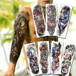 e7297c22a Arm tAttoos for blAck men online shopping - Warrior Soldier Black Temporary  Tattoo Stickers For Men