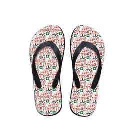 $enCountryForm.capitalKeyWord NZ - Fashion Summer Beach Flip Flops Women Slippers Sandals Painting Art Printing Lady Flats Shoes HOT 3D Cute Nurse Printed
