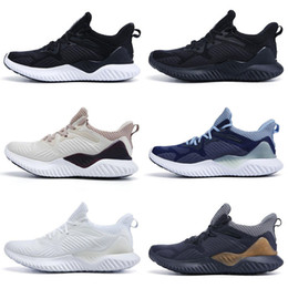 alpha bounce 2019 - 2019 New AlphaBounce Beyond High Quality racer marbles shark outside Running Shoes Black Grey White Alpha Khaki bounce s