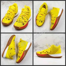 Mountain sneakers online shopping - New Kyrie Sponge Bob Men Basketball Shoes s Trainers Kyrie Irving Squidward Mountain Oreo Friends Patrick Sports Sneakers