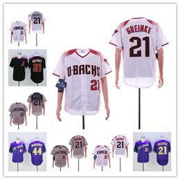 a9f9bf622 Men s Arizona 2019 Diamondbacks Jersey 21 Zack Greinke 44 Paul Goldschmidt  Red Black Purple Baseball Jerseys Free Shipping M-XXXL