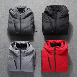 Young mens jackets online shopping - 4 Colors New Fashion Coats Down Jacket Outdoor Leisure Thickened Warm Mens Jacket Young Down Jacket M XL