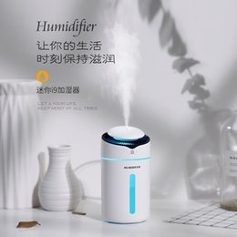 $enCountryForm.capitalKeyWord Australia - 300ml Mini I9 Humidifier With Probe Safety Mute Air Humidifier USB Clorful Night Light Diffuser For Home Office Car Air Purifier