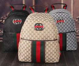 Echtes Leder Hohe Qualität 2019 männer frauen Rucksack berühmte Rucksack dame rucksäcke Taschen Frauen Männer rucksack 98565 im Angebot