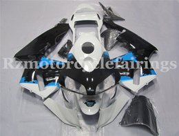 kit motorcycles for sale Canada - Hot sales Injection molding New ABS Motorcycle Full Fairing Kit Fit For CBR600RR F5 2004 2003 Bodywork set Free custom Black White