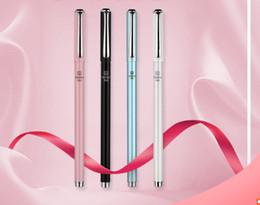 Korean Gel Pens Australia - Best selling gel pens Korean Creative Student's Metal Slim Neutral Pen Gift Signature Pen 0.5mm435