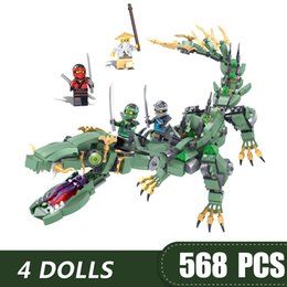 $enCountryForm.capitalKeyWord Australia - 574PCS Small Building Blocks Toys Compatible with Legoe Ninja Flying Dragon Gift for girls boys children DIY
