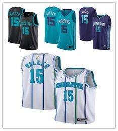 2019 New Top quality Charlotte Kemba 15 Walker Hornets Basketball City Icon  Edition Swingman Jerseys d856e5e78