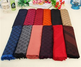 Thick Cotton Winter Scarf Australia - High-end designer shawl winter scarf woollen and cotton shawl fashionable thick wool lady shawl 140*140