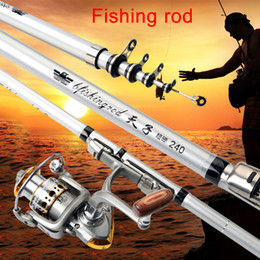 Pole For Fishing Australia - 1.8-3m Fishing Rod Reel Travel Portable Sea Fishing Pole for Freshwater Saltwater Profession Tool Only Rod