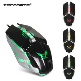 Free Mouse Games Australia - X700 Wired gaming mouse Laptop Desktop Computer mouse High-end gaming macro definition game four-color luminous mouse with free ship3600 dpi