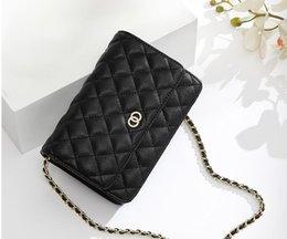 $enCountryForm.capitalKeyWord Australia - Hot Sale Fashion Vintage Handbags Women bags Designer Handbags Wallets for Womens Leather Chain Bag Crossbody and Shoulder Bags 19CM 3A