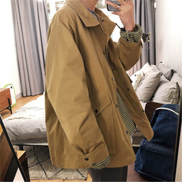$enCountryForm.capitalKeyWord Australia - 2019 The New Listing Spring And Summer Cotton Chinese Style Men's Sports Tooling Three-dimensional Jacket Simple Casual Discount