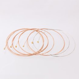 Discount coated guitar strings - 6PCS Acoustic Guitar String 012 016 024 032 042 053 Phosphor Copper Coated