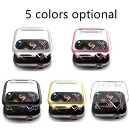 Qualitäts-PC-Schutzhülle für Apple Iwatch 1 2 3 4 5 Serie 38mm / 42mm 40mm / 44mm fünf Farben Optional im Angebot