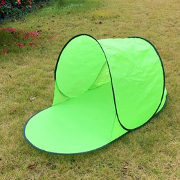 Portable Pop Up Beach Tent Sun Shade Shelter Outdoor Camping Fishing Beach Mat Folding Automatic Sun Shade tent for single person LJJK2143 on Sale
