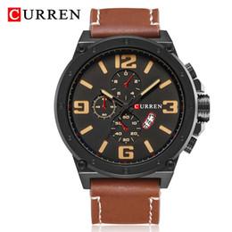 Best Male Wrist Watch Australia - CURREN Fashion Watches Men Casual Military Sports Watch Quartz Analog Wrist Watch Clock Male Hour Relogio Masculino Best Gift