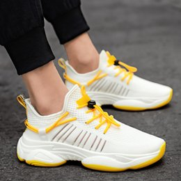 man baskets NZ - Men Running Shoes Adult Athletic Trainers New Outdoor Breath Fitness Sneakers Sport Gym Shoes Male Basket Footwear