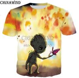 $enCountryForm.capitalKeyWord NZ - Most popular guardians of the galaxy series t shirt men women 3D printed fashion cool t shirt streetwear casual summer tops A25