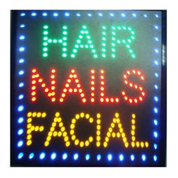 $enCountryForm.capitalKeyWord Australia - led beauty salon hair salon sign billboard led neon light animated electronic animated led sign 48 X 48CM indoor