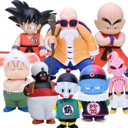 $enCountryForm.capitalKeyWord NZ - Dragon Ball Z Action Son Goku Krillin Master Roshi Oolong Chiaotzu Pilaf Buu Mr. Popo Figure Toys Model Doll C19041501