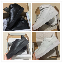 Discount shoes high men brown colour - CORK For Men&Women High Quality One 1 casual Shoes Low Cut All White Black Colour Casual Sneakers Size US 5.5-12 FL2