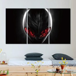 $enCountryForm.capitalKeyWord Australia - Canvas prints art alien 3 modular pictures wall pictures printed on canvas for decor no frame