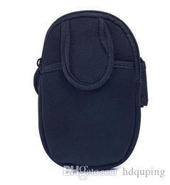 $enCountryForm.capitalKeyWord NZ - Durable Nylon Arm Bag Zipper outdoor Sports Running Pocket sports travel  gadgets Arm bag Mobile phone Pocket Storage bag