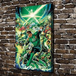 $enCountryForm.capitalKeyWord NZ - DC comic Green Lantern,1 Pieces Home Decor HD Printed Modern Art Painting on Canvas (Unframed Framed)