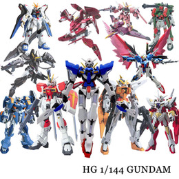 semi finished toys NZ - Anime Gaogao 13cm HG 1 144 Wing Gundam Fenice XXXG-01WF model hot kids toy action figuras assembled Phoenix Robot puzzle gift T200118