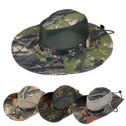 99c65ecd40 Boonie Hat Sport leaf Jungle Military Cap Adultos Hombres Mujeres Vaquero de  ala ancha sombreros para la pesca Packable Army Bucket Hat AAA1946