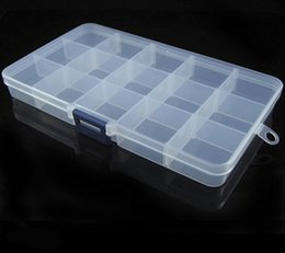 $enCountryForm.capitalKeyWord Australia - Hot Sale 1PCS Adjustable 12 Compartment Storage Box Earring Jewelry Bin Case Container Sewing box Storage