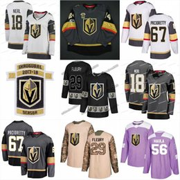 5f478f1ce14 New Season 67 Max Pacioretty 29 Marc-Andre Fleury Paul Stastny Curtis  McKenzie Zach Fucale 81 Marchessault Vegas Golden Knights Jerseys