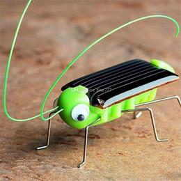 Vente en gros Funny! Nouvelle Arrivée solaire Sauterelle Modèle Modèle Jouet Solaire Enfants Extérieur Jouet Enfants Jouet Éducatif Cadeaux Réalité Augmentée enfants Jouets