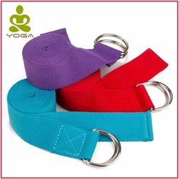 Gym stretchinG rope online shopping - Equipment Adjustable Gym Fitness Yoga Training Belt Exercise Stretch Out Strap Pilates Yoga Resistance Bands Pull Rope