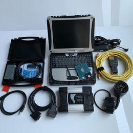 Bmw Engine Diagnostic Australia - New For BMW ICOM Next ISTA D 4.16 ISTA P 3.66 + ODIS 4.4.1 vas5054a Auto OBD2 Diagnostic Tool with CF-19 i5 laptop directly use