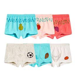 1ddaa99678f9 Children baby cotton print underpants Boys Boxer Shorts Kids Cartoon  colorful types home underwear cartoon Soft underpants LJJQ266